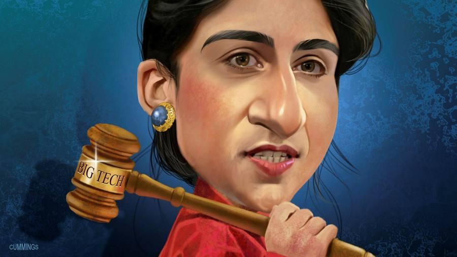 Lina Khan, the new antitrust chief taking on Big Tech