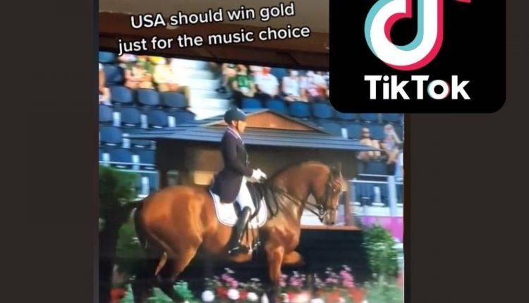 "Olympic ""Rave Horse"" goes viral on TikTok"