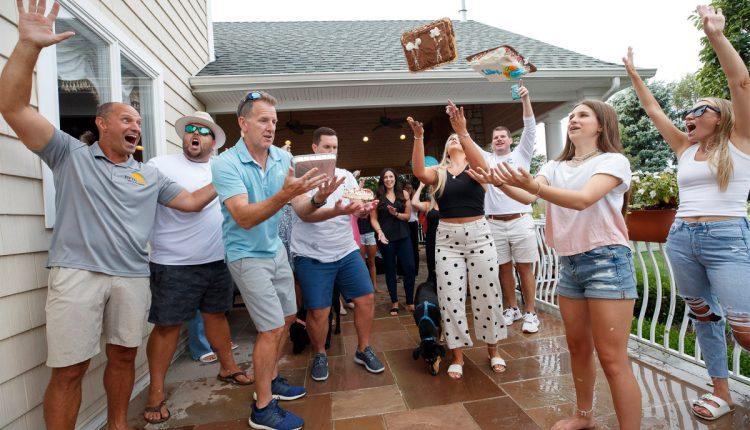NJ family's cake-flipping tradition goes viral on TikTok