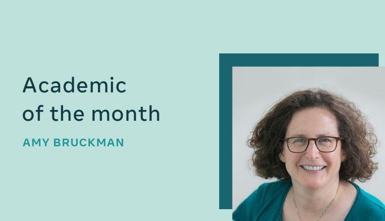 Q&A with Georgia Tech's Amy Bruckman, research award recipient in