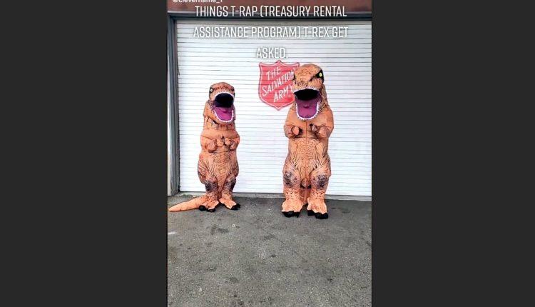 T-RAP the TikTok T-Rex Has a Message for Lewis County